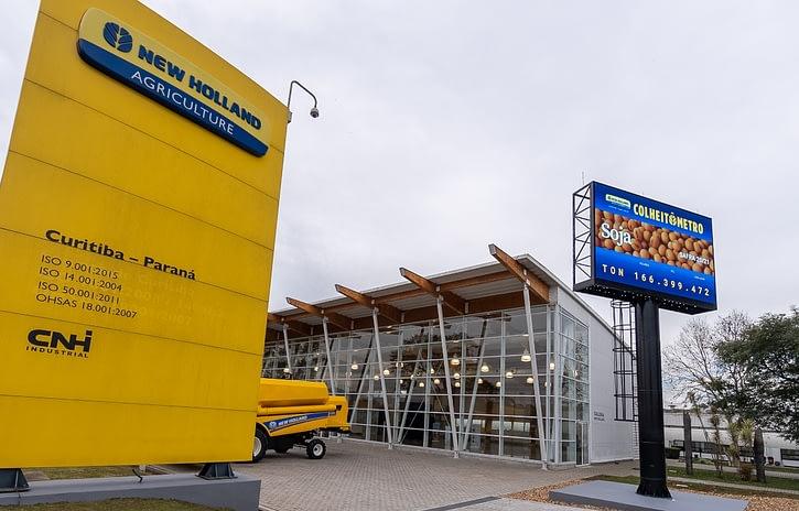 Imagem ilustrativa da notícia: New Holland inaugura Colheitômetro em sua fábrica de Curitiba