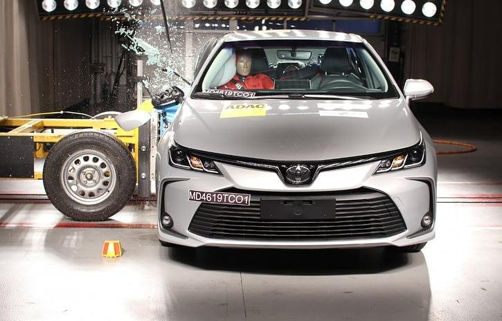 Imagem ilustrativa da notícia: Novo Corolla recebe nota máxima do Latin NCAP