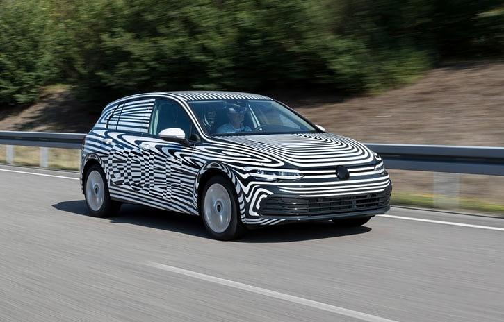 Imagem ilustrativa da notícia: Oitava geração do VW Golf entra em fase final de testes