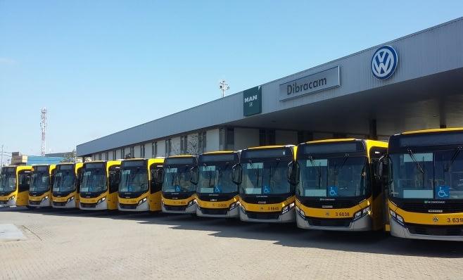 Imagem ilustrativa da notícia: Transunião renova frota: 25 ônibus VW.