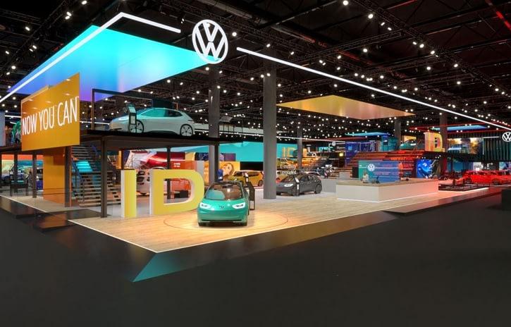 Imagem ilustrativa da notícia: Os elétricos do esvaziado Salão de Frankfurt