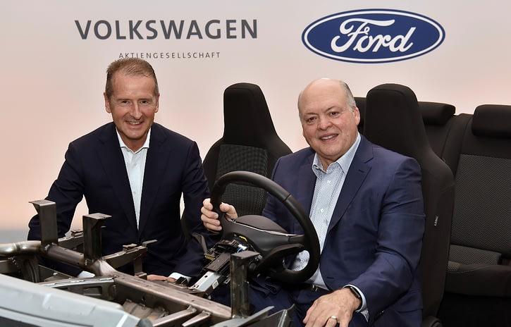 Imagem ilustrativa da notícia: Parceria Ford-Volkswagen projeta produzir 8 milhões de veículos