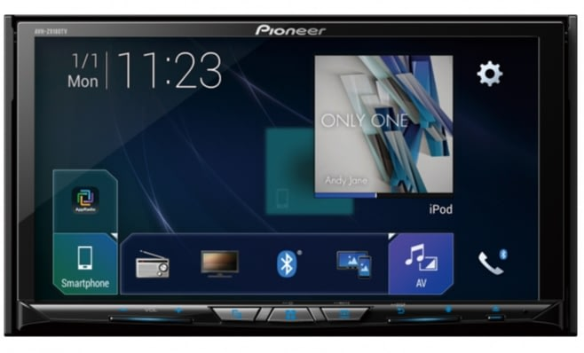Imagem ilustrativa da notícia: Pioneer lança multimídia com espelhamento