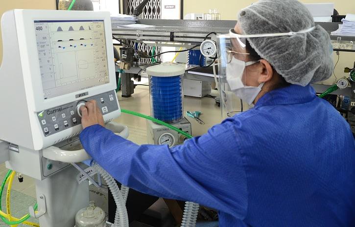 Imagem ilustrativa da notícia: Pool automotivo turbina produção de respiradores na KTK