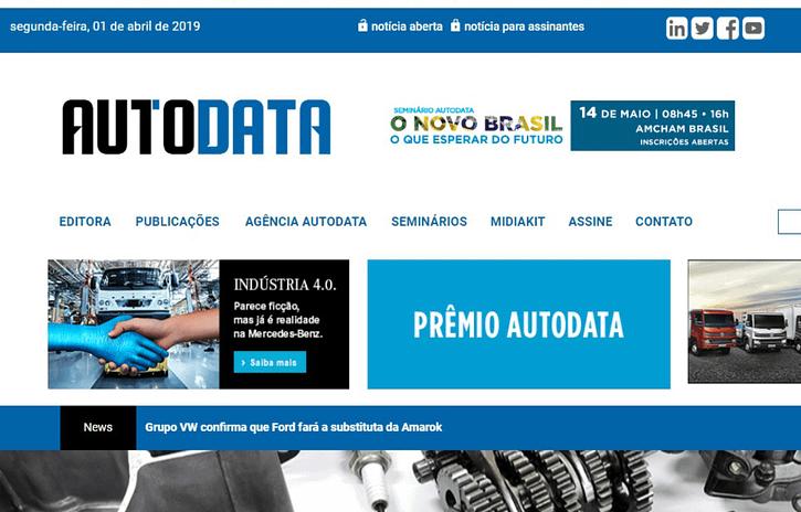 Imagem ilustrativa da notícia: Portal AutoData reformulado já está no ar