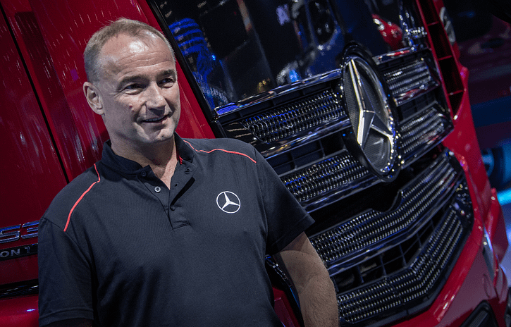 Imagem ilustrativa da notícia: Preço do caminhão subirá, diz presidente da Mercedes-Benz