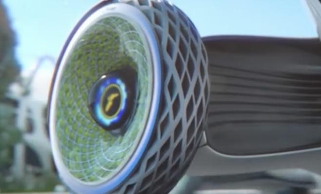 Imagem ilustrativa da notícia: Goodyear mostra protótipo de pneu que libera oxigênio