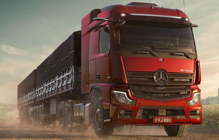 Imagem ilustrativa da notícia: Produção de caminhões cresceu 34% no trimestre