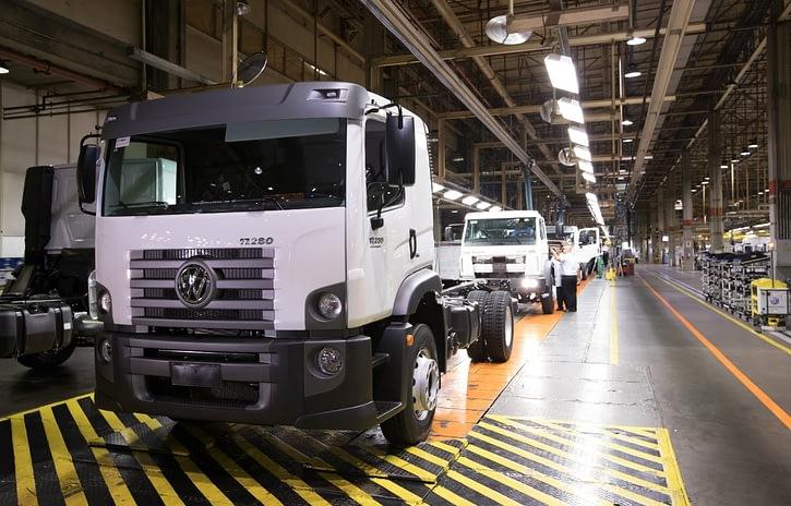 Imagem ilustrativa da notícia: Mercado interno sustenta produção de caminhões