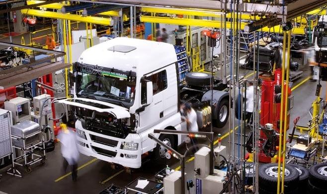Imagem ilustrativa da notícia: Produção de caminhões supera as 105 mil unidades