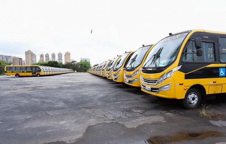Imagem ilustrativa da notícia: Exportações derrubam produção de ônibus