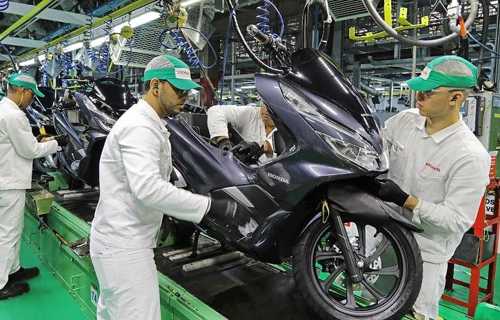 Imagem ilustrativa da notícia: Produção de motocicletas começa a retomar