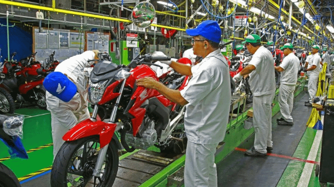 Imagem ilustrativa da notícia: Produção de motocicletas cresce 3,4% em janeiro