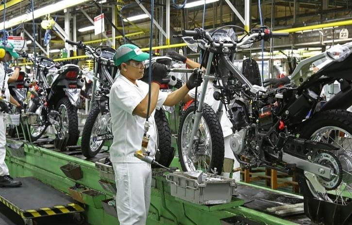 Imagem ilustrativa da notícia: Indústria de motocicletas segue rumo ao 1 milhão