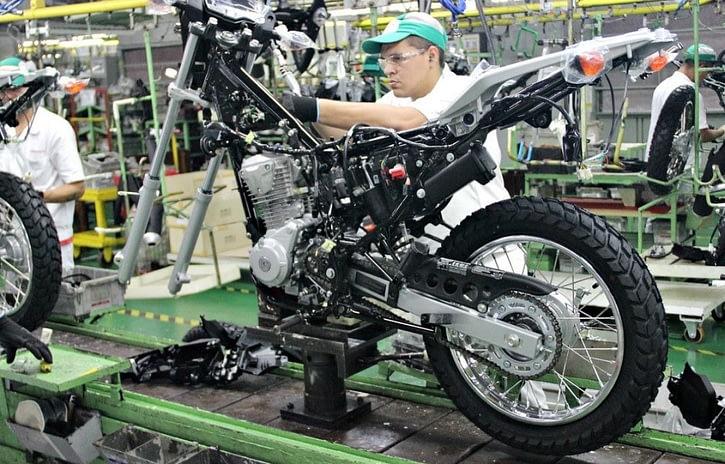 Imagem ilustrativa da notícia: Produção de motocicletas tem segundo melhor mês do ano