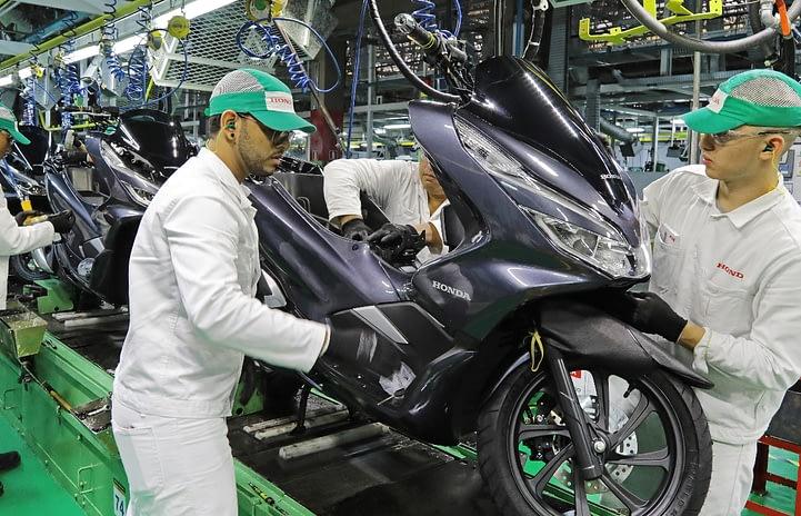 Imagem ilustrativa da notícia: Produção de motocicletas superou, até setembro, volume de 2019