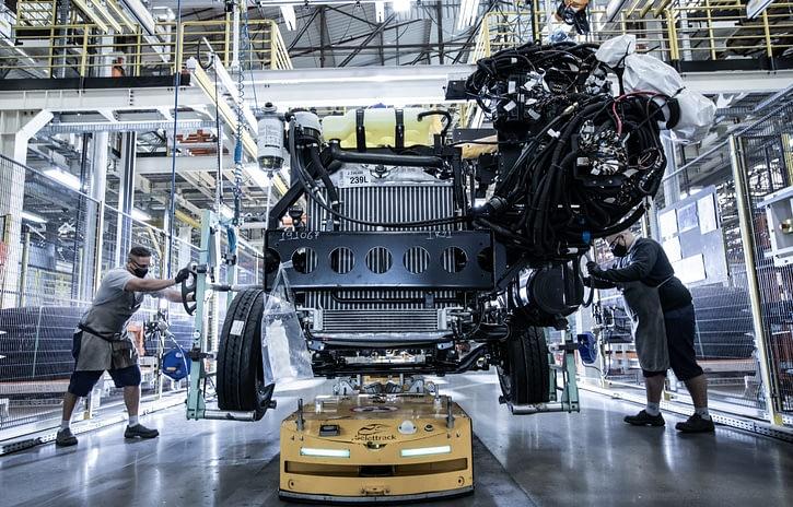 Imagem ilustrativa da notícia: Produção de chassis de ônibus cresceu 14% até maio