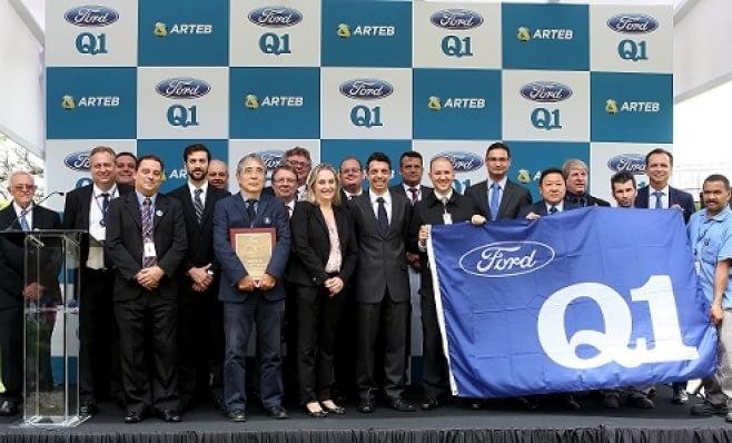 Imagem ilustrativa da notícia: Arteb recebe a Q1, certificação mundial da Ford