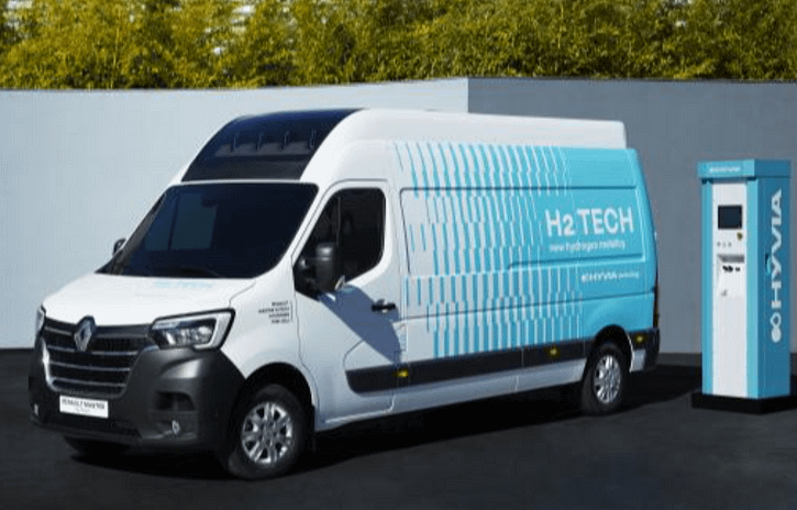 Imagem ilustrativa da notícia: Renault apresenta protótipos de utilitários movidos a hidrogênio