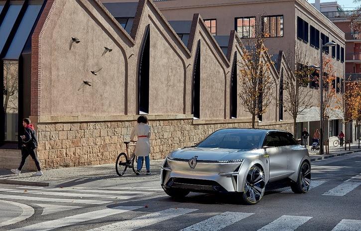 Imagem ilustrativa da notícia: Renault apresenta Morphoz, novo carro-conceito