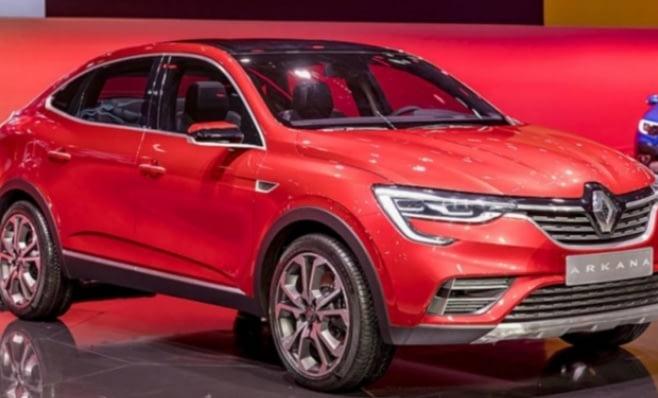 Imagem ilustrativa da notícia: Renault apresenta crossover Arkana na Rússia