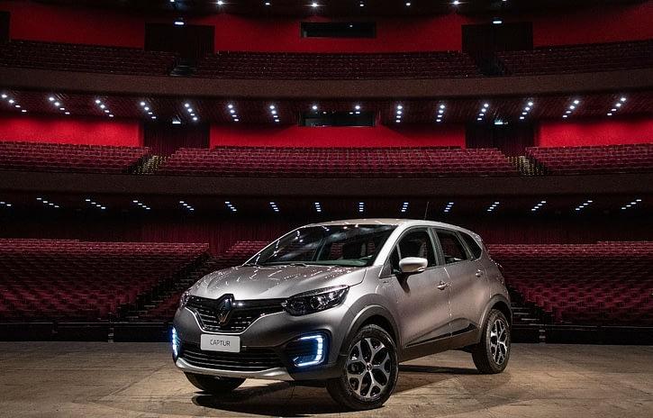 Imagem ilustrativa da notícia: Renault Captur ganha série limitada com som da Bose