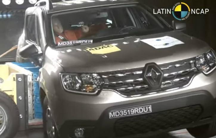 Imagem ilustrativa da notícia: Renault Duster recebe quatro estrelas do Latin NCAP