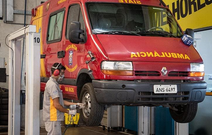 Imagem ilustrativa da notícia: Renault fará manutenção de ambulâncias no Paraná