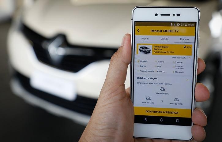 Imagem ilustrativa da notícia: Renault oferece carsharing na fábrica brasileira
