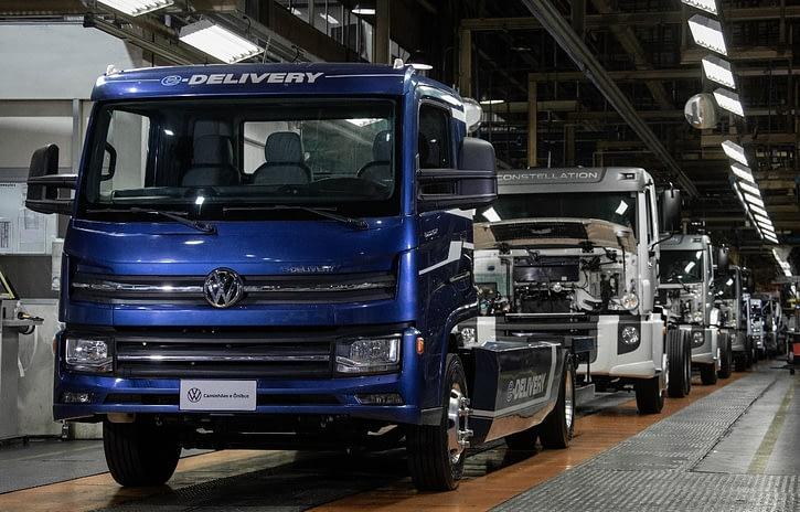 Imagem ilustrativa da notícia: Resende começa a produzir em série o Volkswagen e-Delivery