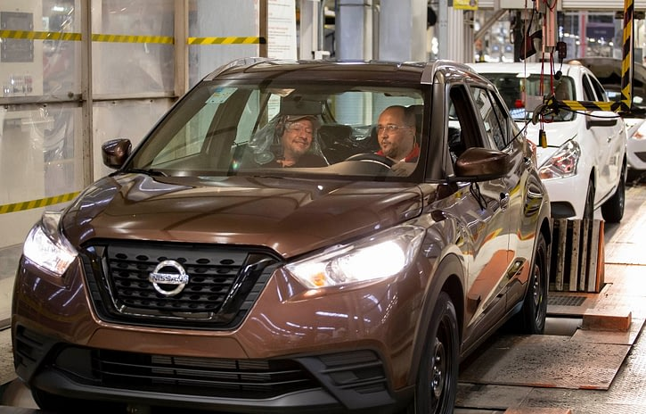 Imagem ilustrativa da notícia: Resende já produziu 100 mil Nissan Kicks