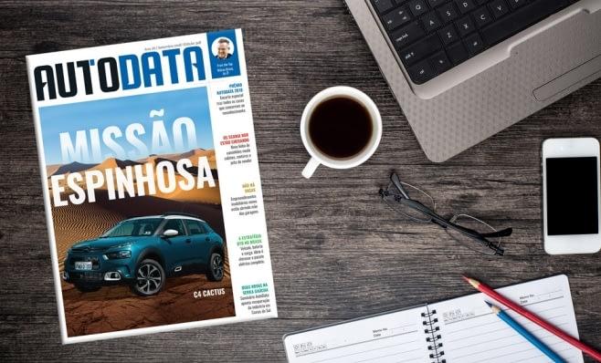 Imagem ilustrativa da notícia: Citroën C4 Cactus é destaque na AutoData 348