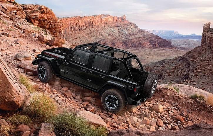 Imagem ilustrativa da notícia: Rubicon é a versão topo de linha do Jeep Wrangler