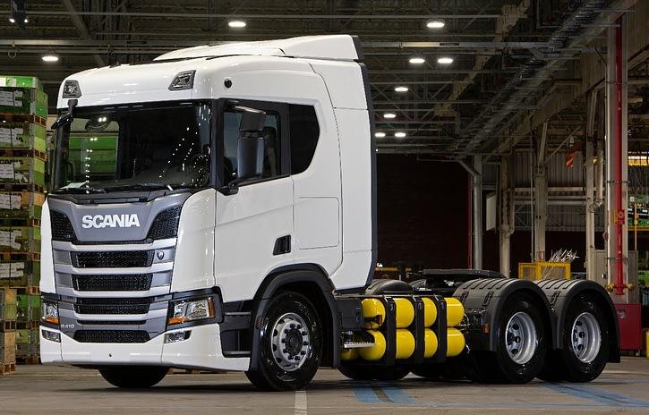 Imagem ilustrativa da notícia: Scania inicia pré-venda de caminhões a gás