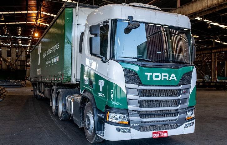 Imagem ilustrativa da notícia: Scania fecha negócio com a Tora Transportes