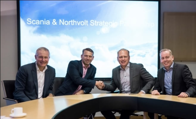 Imagem ilustrativa da notícia: Scania e Northvolt: parceria para eletrificação de veículo.