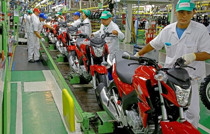 Imagem ilustrativa da notícia: Janeiro do setor de duas rodas tem alta de 20% na produção