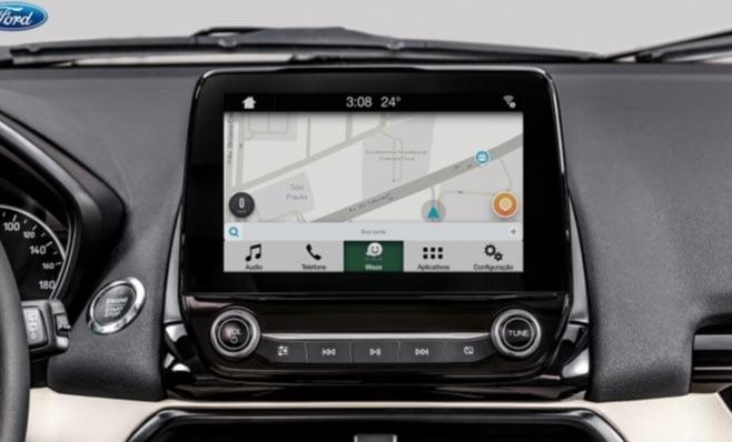Imagem ilustrativa da notícia: Ford oferece sincronização do Waze para iPhone no SYNC 3