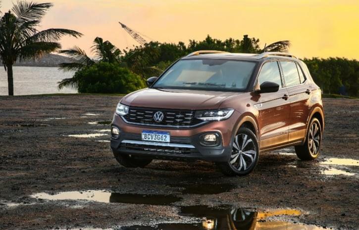 Imagem ilustrativa da notícia: T-Cross foi o SUV mais vendido em fevereiro
