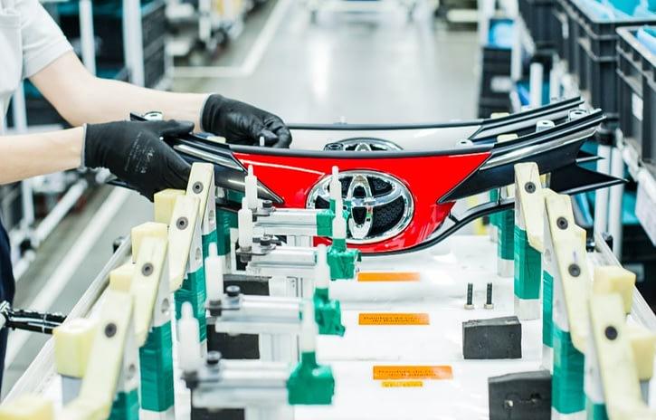 Imagem ilustrativa da notícia: Toyota adia a retomada da produção em suas quatro fábricas
