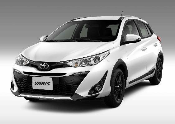 Imagem ilustrativa da notícia: Toyota começa a vender Yaris X-Way