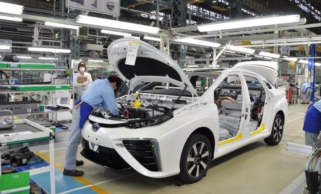 Imagem ilustrativa da notícia: Produção global da Toyota cresce em outubro