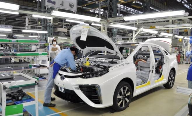 Imagem ilustrativa da notícia: Demanda global fez crescer produção Toyota em 2017