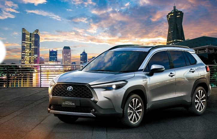 Imagem ilustrativa da notícia: Toyota mostra ao mundo o Corolla Cross
