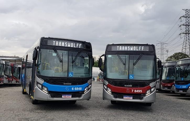 Imagem ilustrativa da notícia: Transwolff renova frota com ônibus Mercedes-Benz