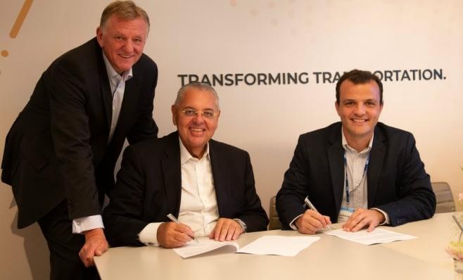 Imagem ilustrativa da notícia: VWCO e Ambev têm parceria em mobilidade elétrica