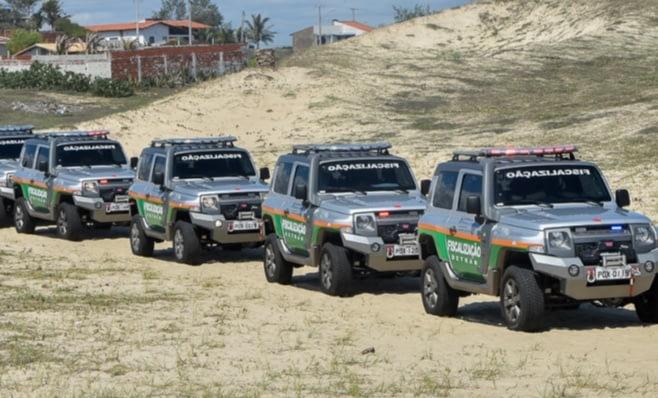 Imagem ilustrativa da notícia: Troller T4 integrará frota do governo do Ceará