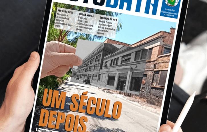 Imagem ilustrativa da notícia: Um século de indústria automotiva brasileira na AutoData 376