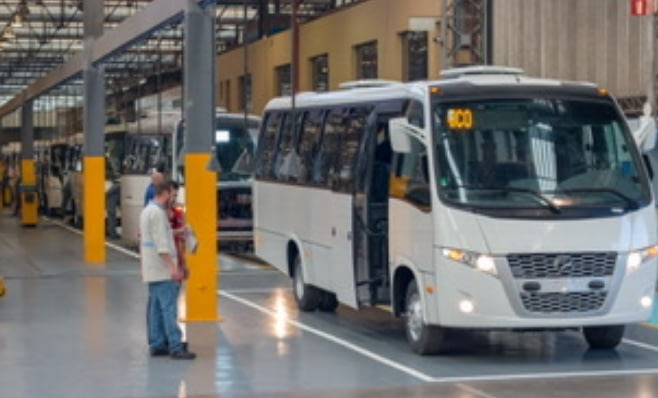 Imagem ilustrativa da notícia: Volare já produz na unidade da Neobus