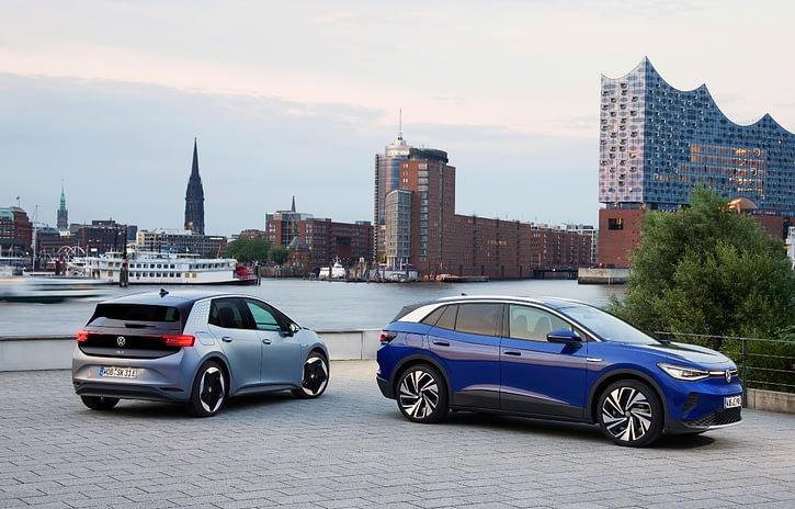 Imagem ilustrativa da notícia: Volkswagen testa mercado para os elétricos ID.3 e ID.4